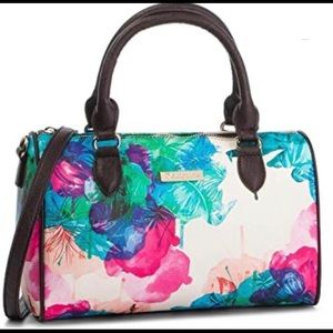 Designual Watercolor Design Bag w/ Shoulder Strap
